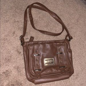 NWOT Nicole Miller Faux Leather Purse